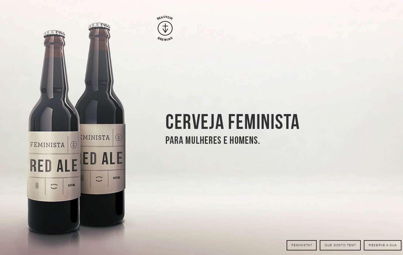 Contra o machismo, publicitárias criam Cerveja Feminista Foto: Cerveja Feminista/Reprodução