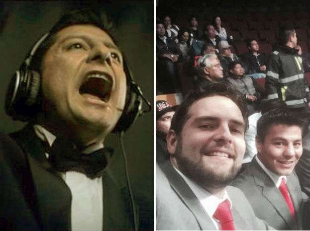 Carlos Alberto Aguilar (TV Azteca) y Guillermo Schutz (Televisa) son las cartas fuertes de ambas televisoras en la narración de boxeo. Foto: Tomada de Twitter