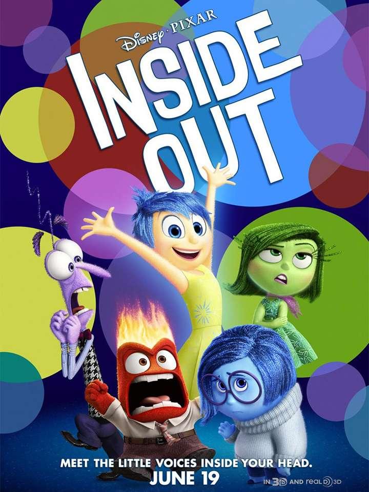 El diseño de los personajes es sencillo ayuda a que se distingan de acuerdo a la emoción que cada uno representa. Foto: Disney Pixar