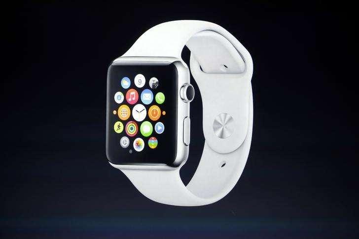 Imagen de archivo de la presentación del reloj Apple Watch en Cupertino, EEUU, el 9 de septiembre de 2014. Apple Inc permitió que algunas empresas prueben sus aplicaciones en su reloj Apple Watch, que aún no ha lanzado al mercado, y ajusten las herramientas al diseño del dispositivo, informó Bloomberg. Foto: Stephen Lam/Reuters
