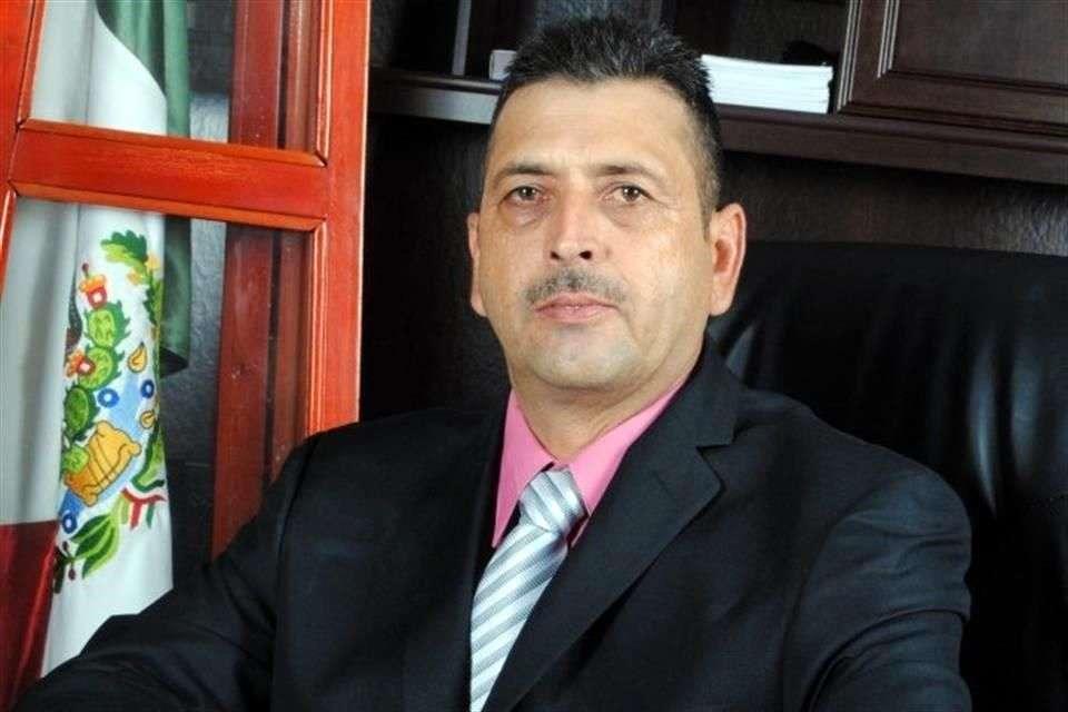 Juan Acosta Salas, Alcalde del Municipio de Choix, en Sinaloa. Foto: Reforma