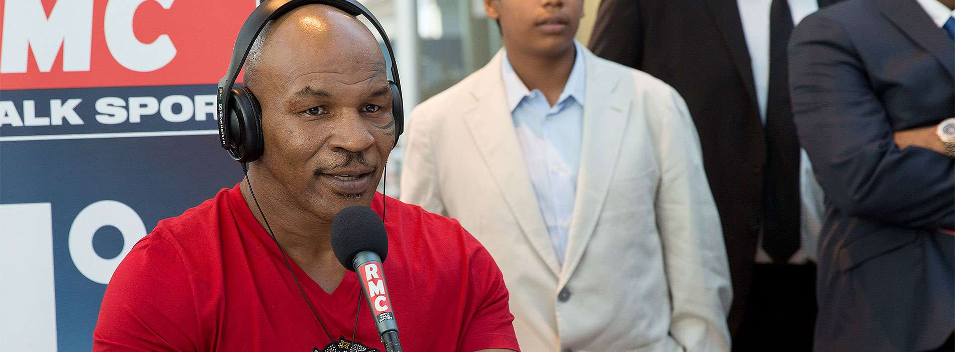 Mike Tyson Foto: Didier Baverel/Getty Images