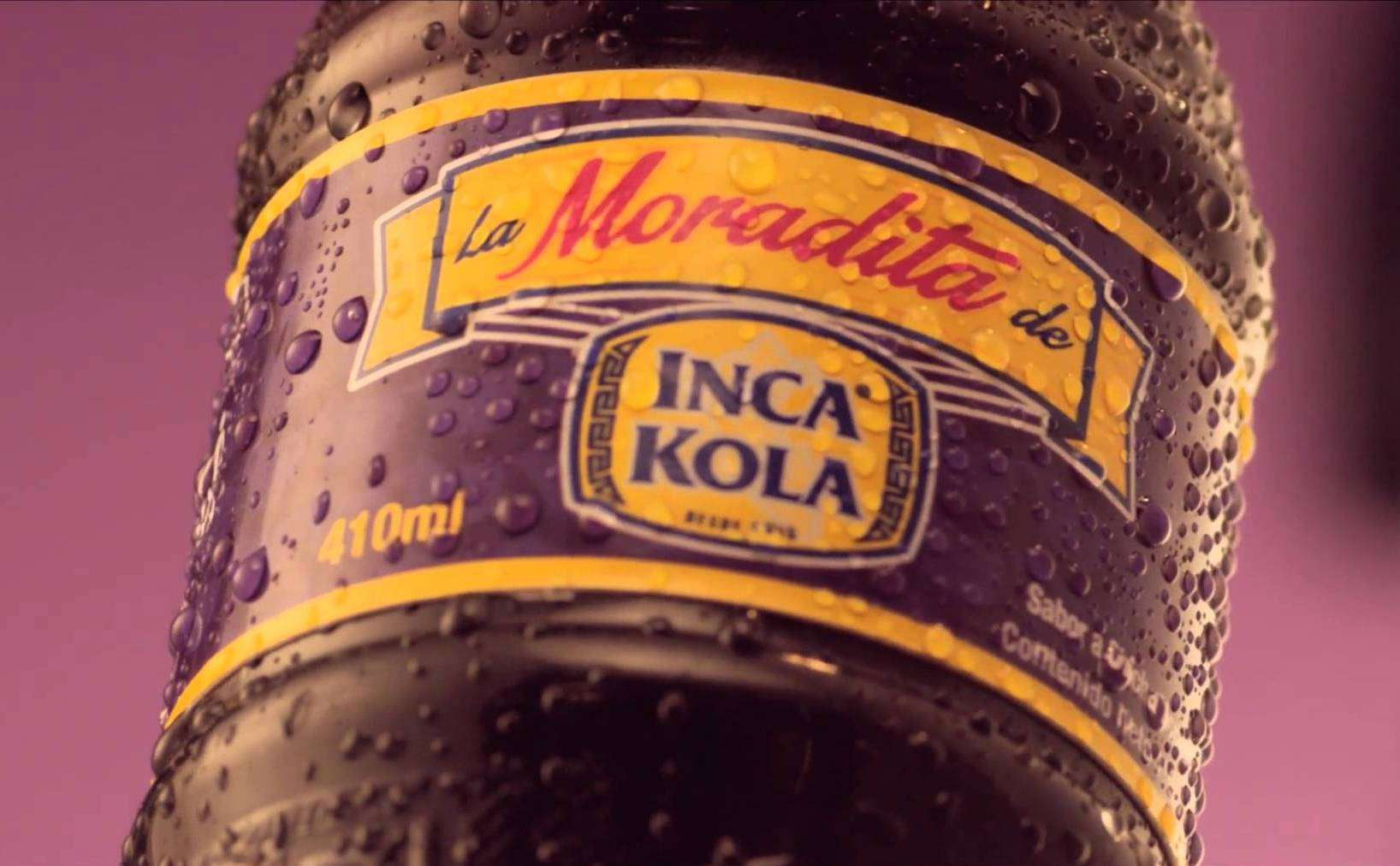 Foto: Captura de video La Moradita de Inca Kola