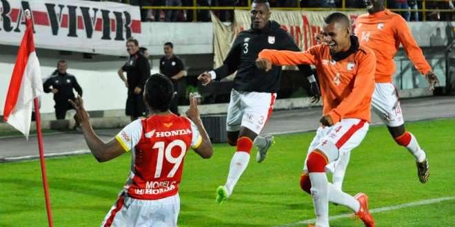 Wilson Morelos, goleador del Independiente Santa Fe. Foto: Independiente Santa Fe - Página Oficla