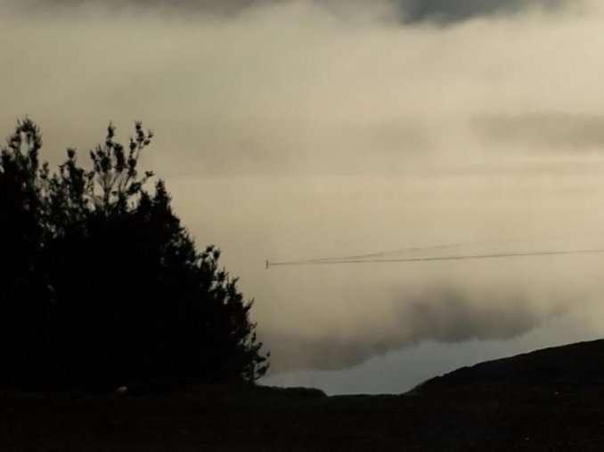 """La fotografía que sacó la familia al supuesto """"Nahuelito"""". Foto: Dario El Cordillerano de Bariloche"""