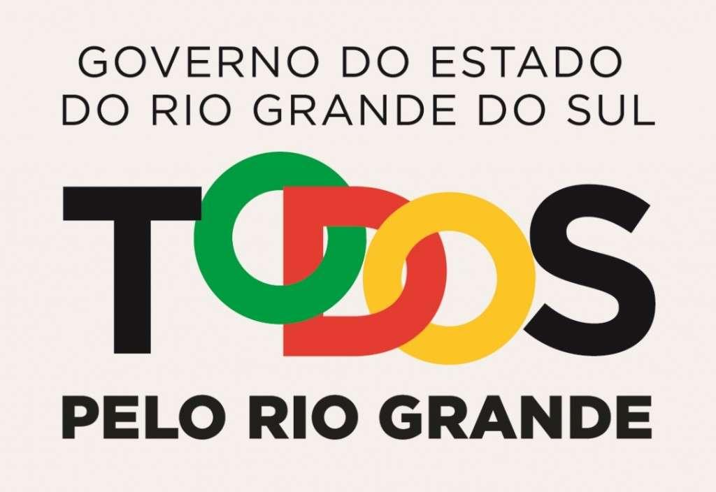 Novo logo do Estado do Rio Grande do sul Foto: Divulgação