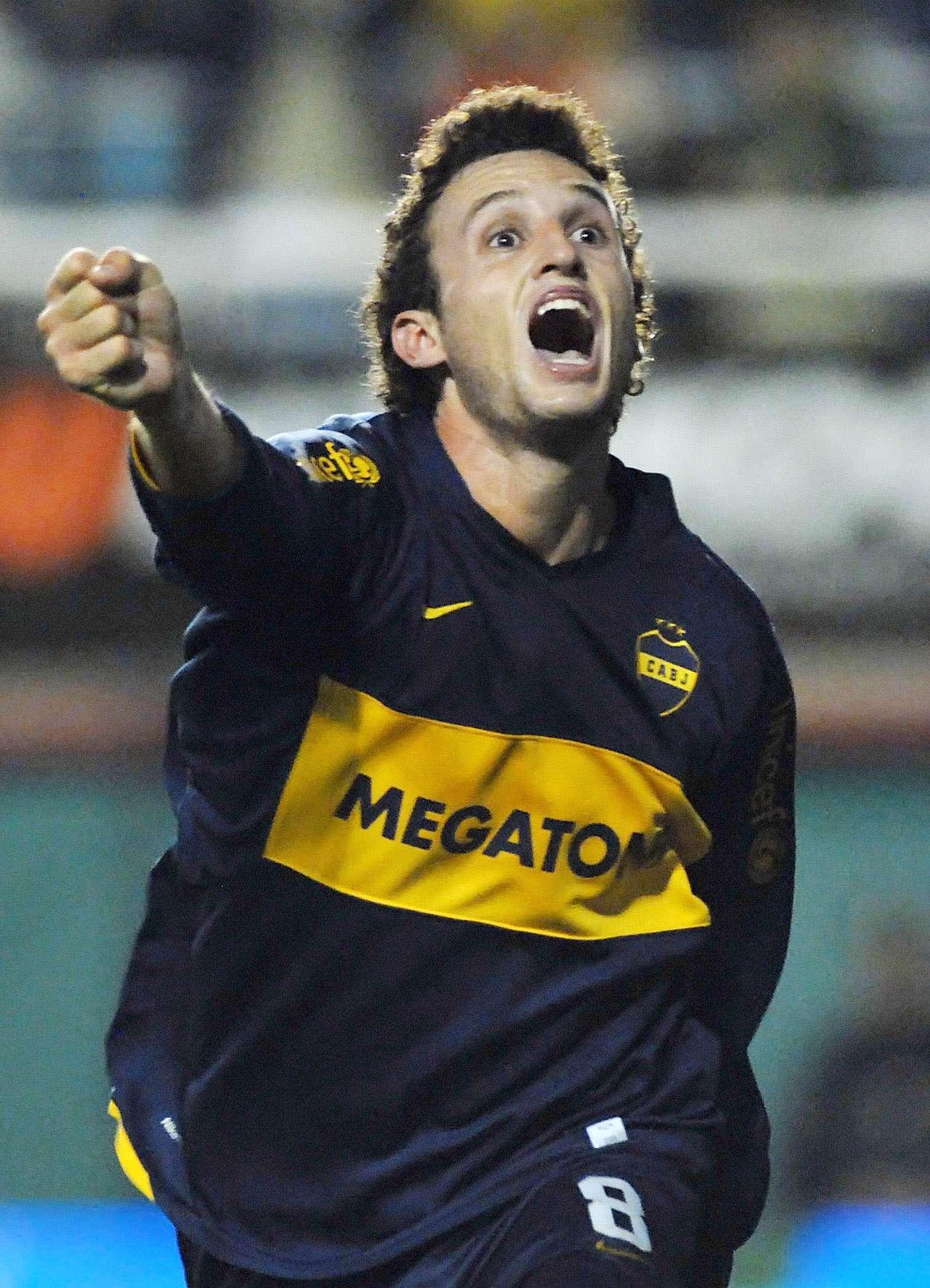 Pablo Ledesma tuvo en dos etapas en Boca. Foto: Archivo NA