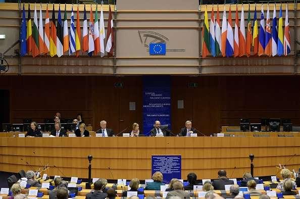"El Parlamento Europeo recibió la ""querella argentina"" Foto: Getty Images"