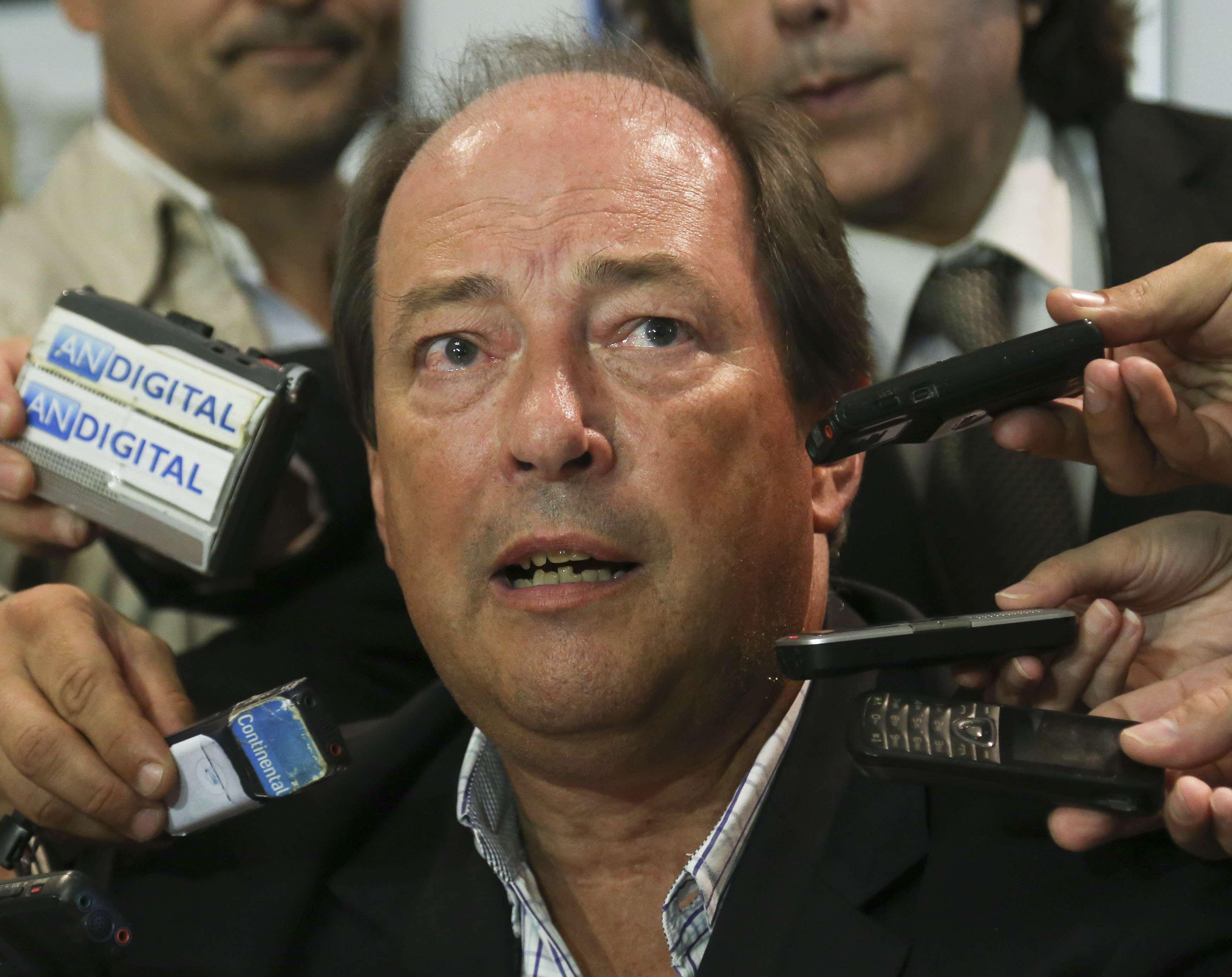 Ernesto Sanz es precandidato presidencial por la UCR, pero prefiere a Sergio Massa. Foto: NA