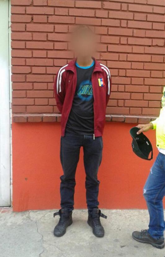 Presunto asesino de la profesora Mónica Andrea Bravo. Foto: @PoliciaBogota