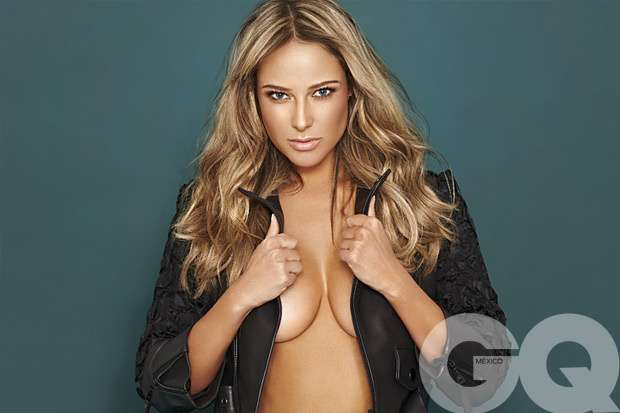 La sensual reportera mexicana. Foto: Especial