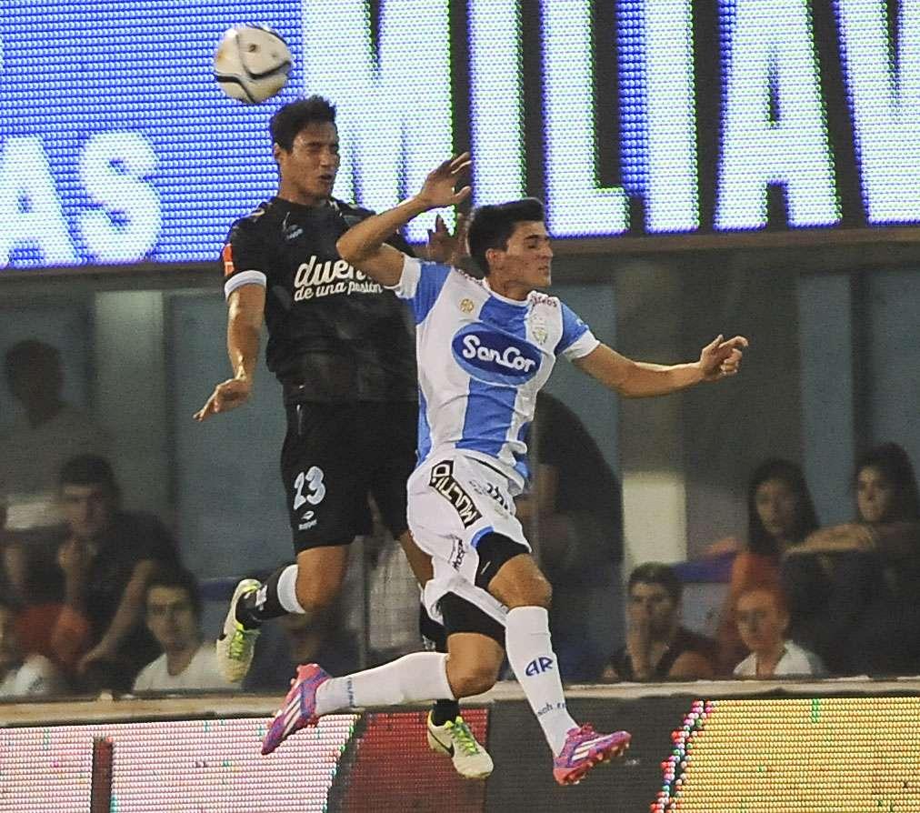 Racing, con mayoría de suplentes, rescató un empate de su visita al estadio de Atlético Rafaela. Foto: NA