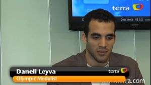 Terra goes one on one with Danell Leyva