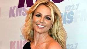 Britney Spears Heads Back to School