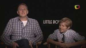 Jakob Salvati y Michael Rapaport te roban el corazón en 'Little Boy'