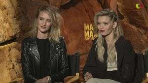 Rosie Hungtinton-Whiteley y Abbey Lee, ¿el sexo débil de 'Mad Max'?