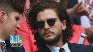 Is Kit Harington's Wimbledon Hair a Game of Thrones Clue?