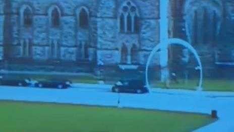 Novo vídeo mostra com detalhes ataque na capital do Canadá