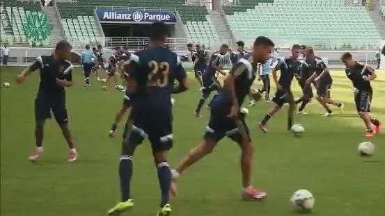 Palmeiras treina pela primeira vez no Allianz Parque; veja
