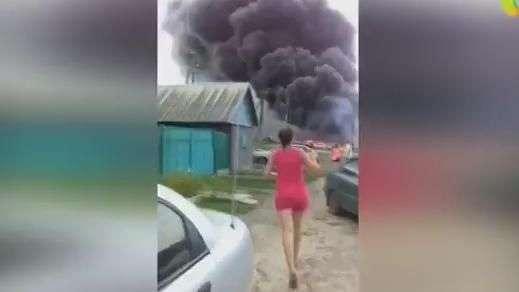 Divulgadas imagens após queda de avião na Ucrânia em julho