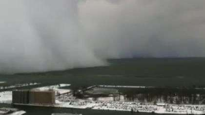 Imagens aéreas mostram caos provocado por nevasca em Buffalo