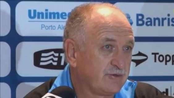 Grêmio: Felipão justifica derrota e vê mérito de adversário