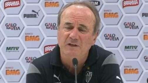 Atlético-MG: Levir analisa derrota e comenta arbitragem