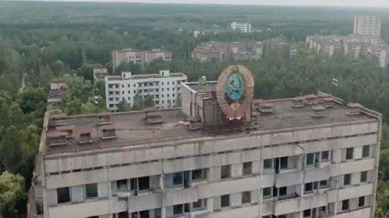 Drone mostra cidade de Chernobyl após 28 anos do desastre