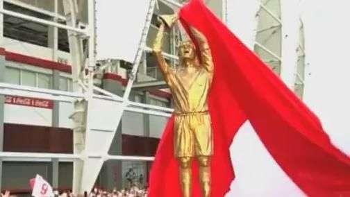 Inter lança estátua de Fernandão e emociona viúva e torcida