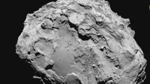2014 histórico: robô pousa em cometa pela primeira vez