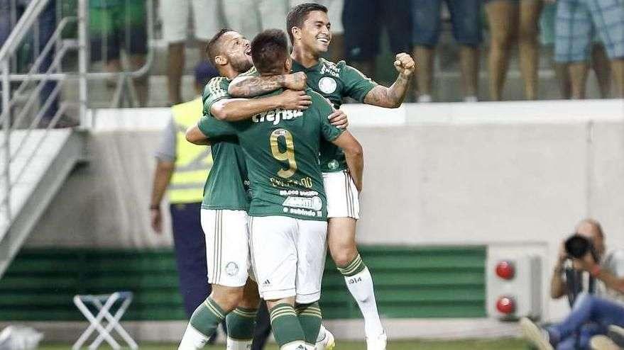 Palmeiras estreia reforços e vence Red Bull por 3 a 2