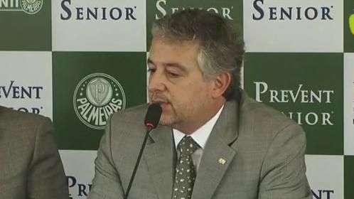 Nobre crê que é possível vinda de mais reforços ao Palmeiras