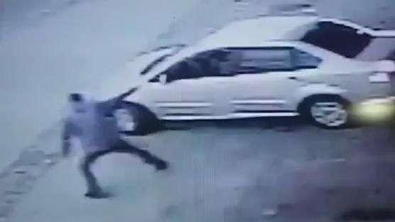 Vídeo mostra guarda sendo baleada na frente do filho em SP