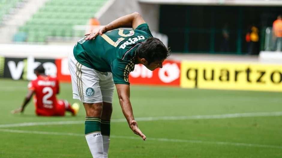 Coringa, Robinho quer ser titular após gol pelo Palmeiras