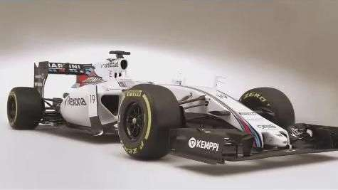 Williams FW37: escuderia revela carro de Massa para 2015