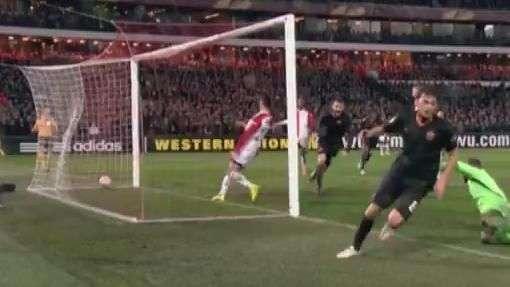 Liga Europa: veja os gols de Feyenoord 1 x 2 Roma