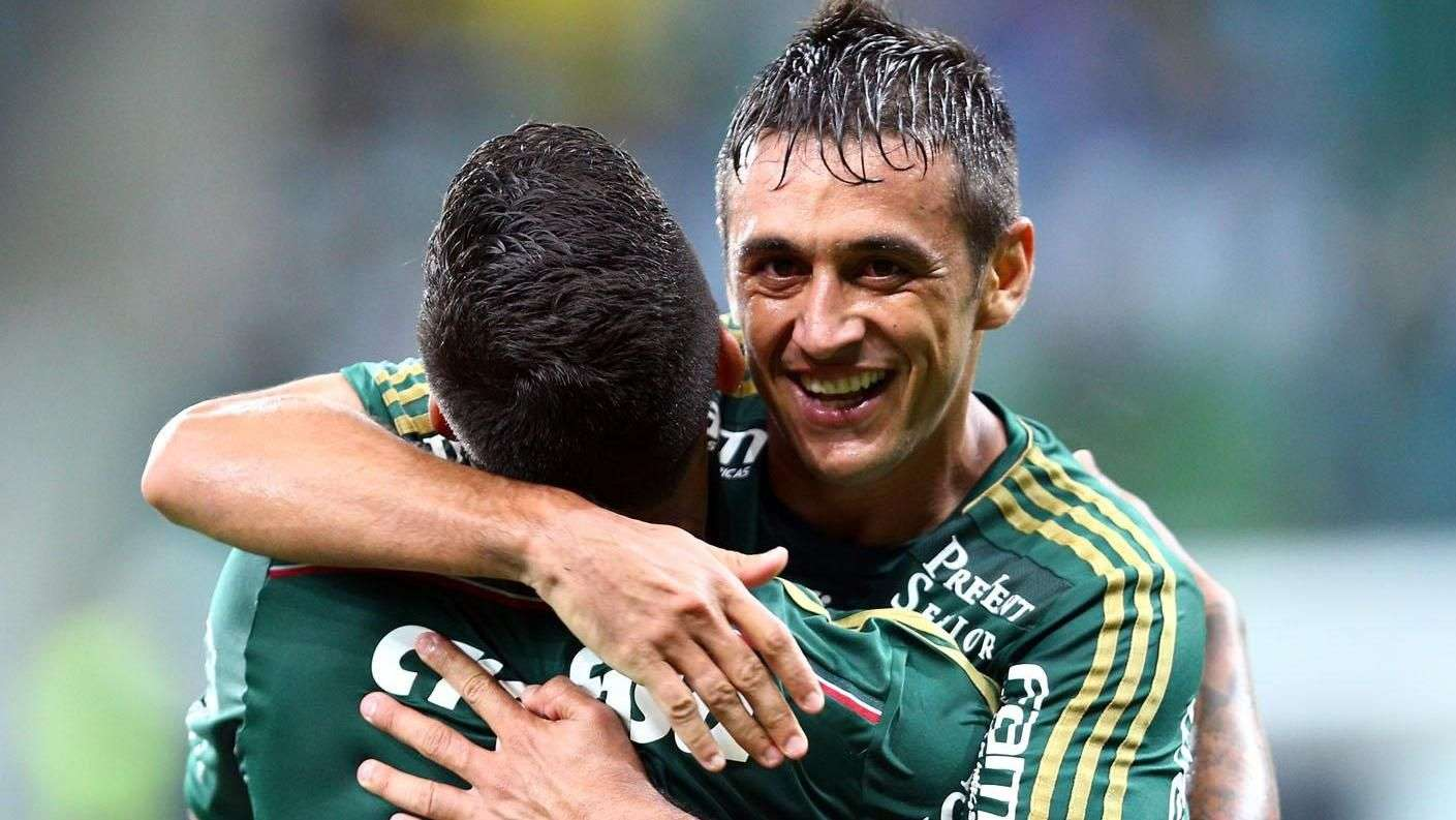 Veja os gols de Palmeiras 2 x 0 Capivariano pelo Paulista