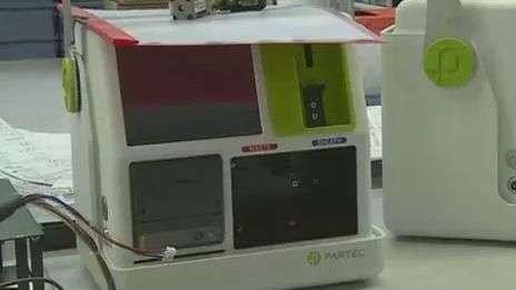 Máquina portátil permite exames médicos em lugares distantes