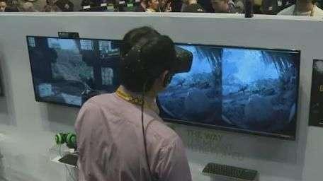 Fabricantes de games apostam em realidade virtual