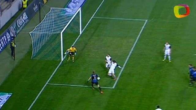 Con gol en posición irregular, el Chernomorets suma de a tres