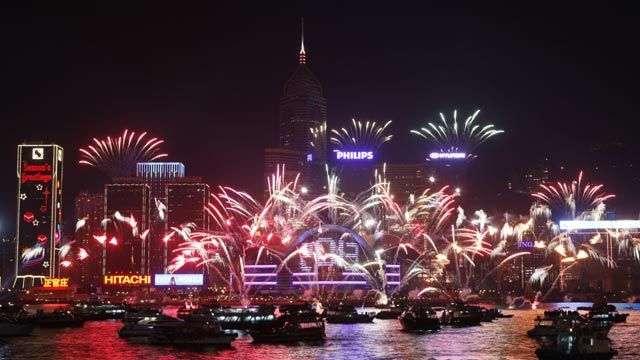 Hong Kong se despide de 2012