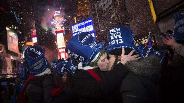 Así se celebró el Año Nuevo en Times Square