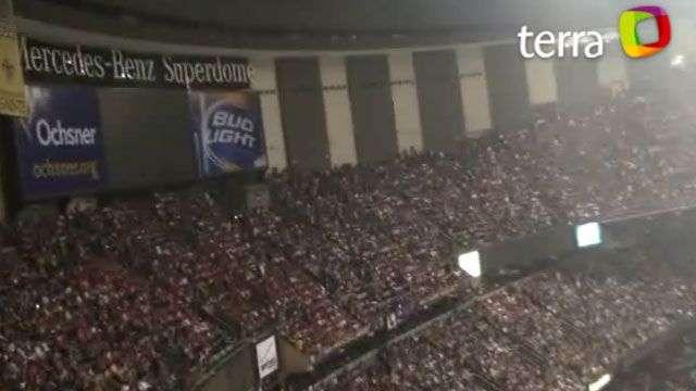Se va la luz durante el partido del Super Bowl XLVII