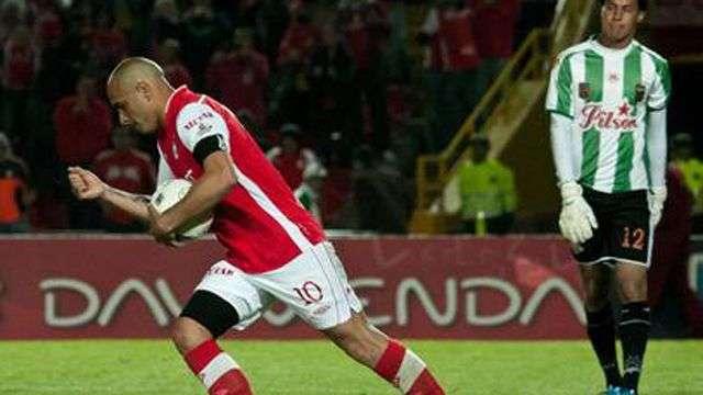 Santa Fe lidera el fútbol colombiano