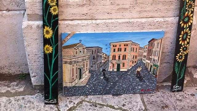 Living in Roma: 'Pintor de madera'