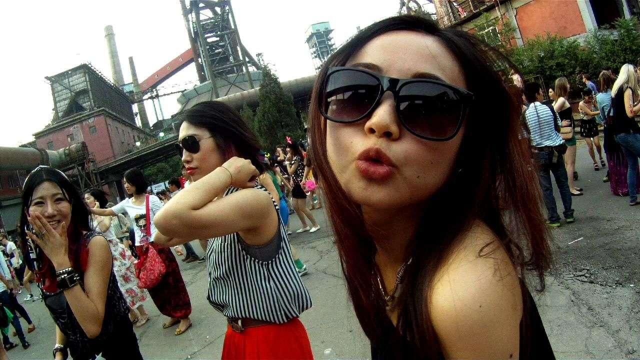 Intro Festival Pekín: Música electrónica, modernos, hipster y mucho postureo
