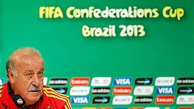 """Del Bosque: """"Debemos sentir orgullo de nuestros jugadores"""""""