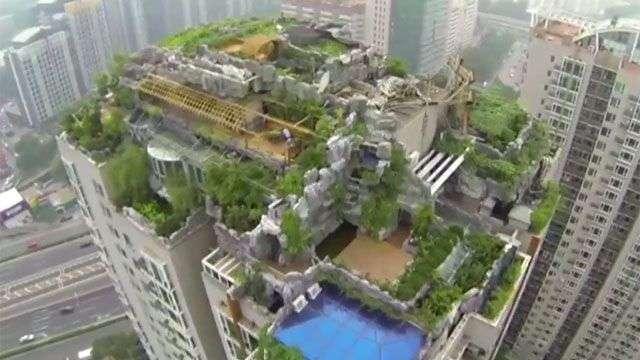 Living in Pekín: Las obras de demolición de la azotea del profesor Zhang