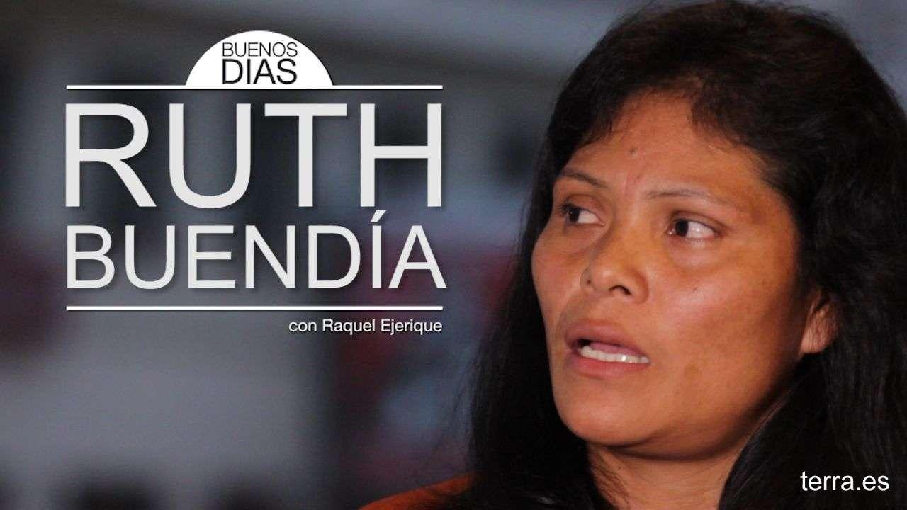 """Ruth Buendía, líder indígena: """"No queremos lujos, solo la paz"""""""