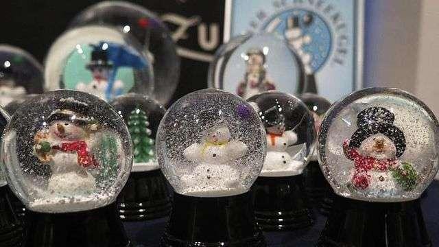 Las bolas de cristal, cofres de recuerdos y magia navideña